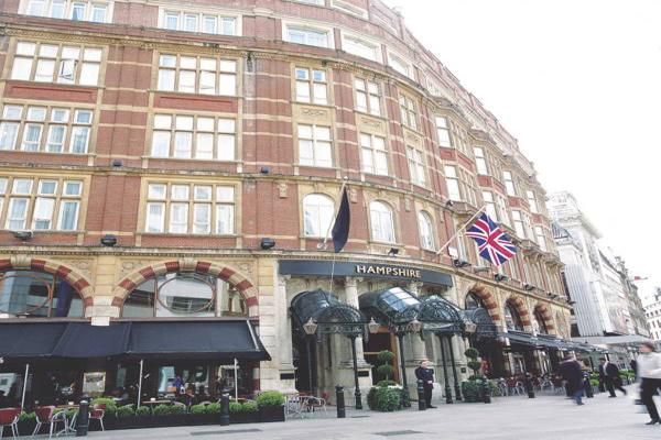 فندق راديسون بلو ادوارديان لندن