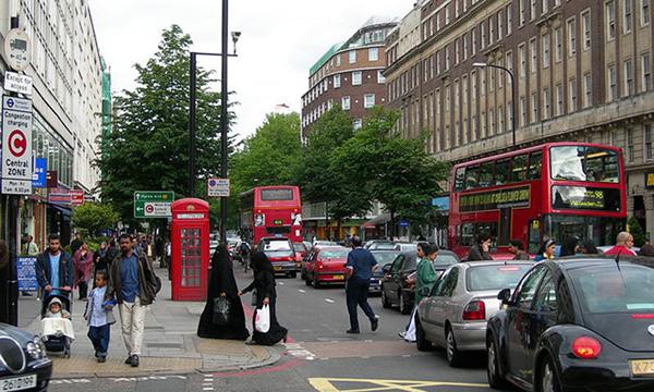 شقق فندقية في لندن شارع العرب