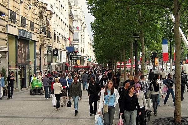 فنادق باريس شارع الشانزليزيه