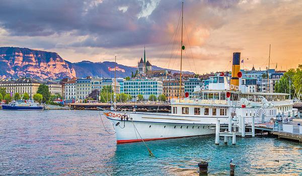 فنادق جنيف المطلة على البحيرة