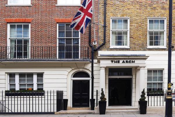 فنادق لندن شارع العرب فندق ذا ارش