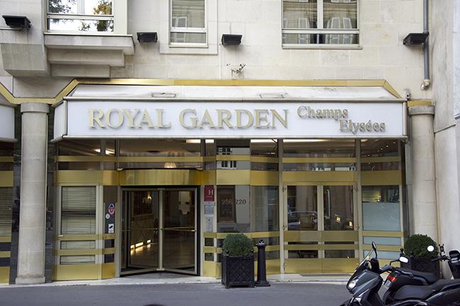 فندق رويال جاردن الشانزليزيه باريس