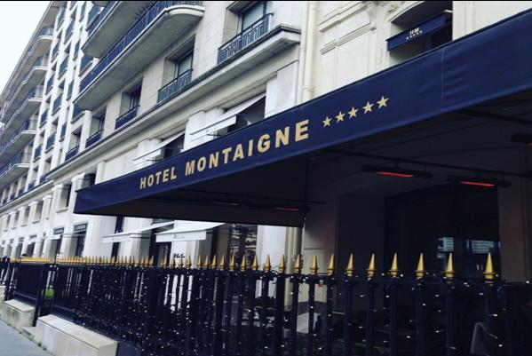 فندق مونتين باريس