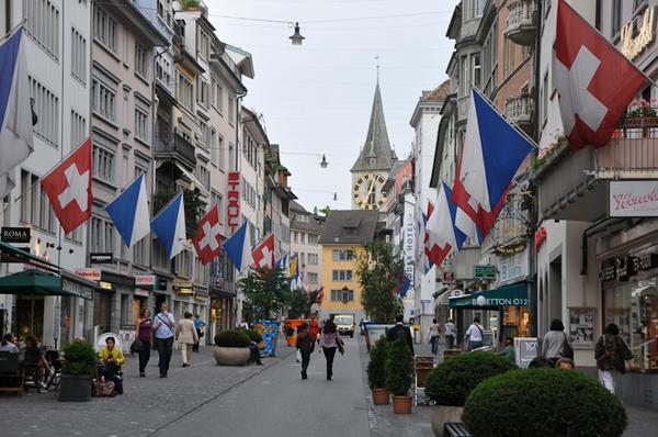 الاماكن السياحية في زيورخ