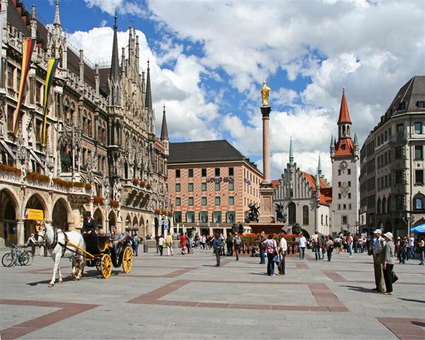 الاماكن السياحية في ميونخ