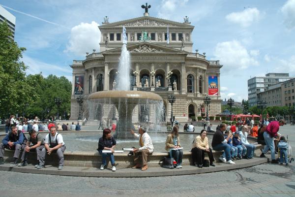 الاماكن السياحية في فرانكفورت
