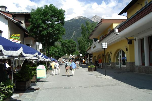 شارع المشاة في سيفيلد ان تيرول النمسا
