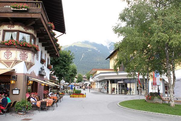 قرية سيفيلد في انسبروك النمسا