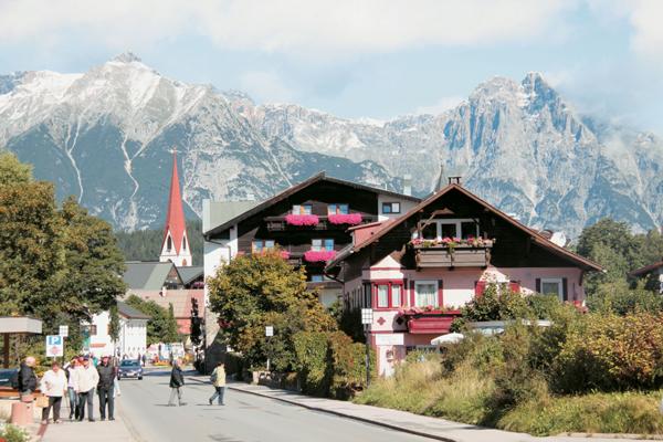 الاماكن السياحية في انسبروك النمسا