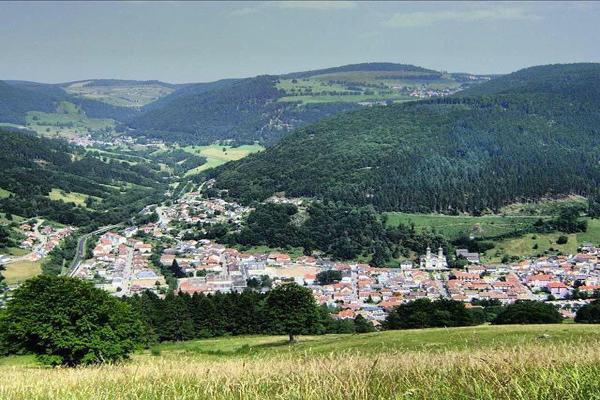 قرية تودناو في الغابة السوداء في المانيا