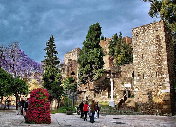 قلعة قصبة في ملقا اسبانيا